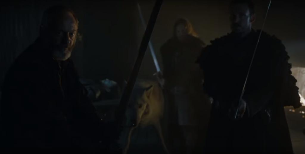 jon snow davos gra o tron