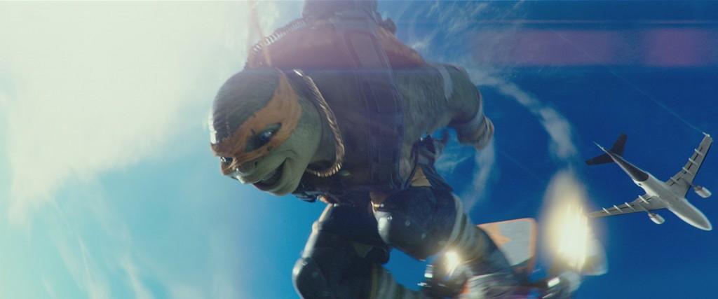 Wojownicze żółwie ninja- Wyjście z cienia 1