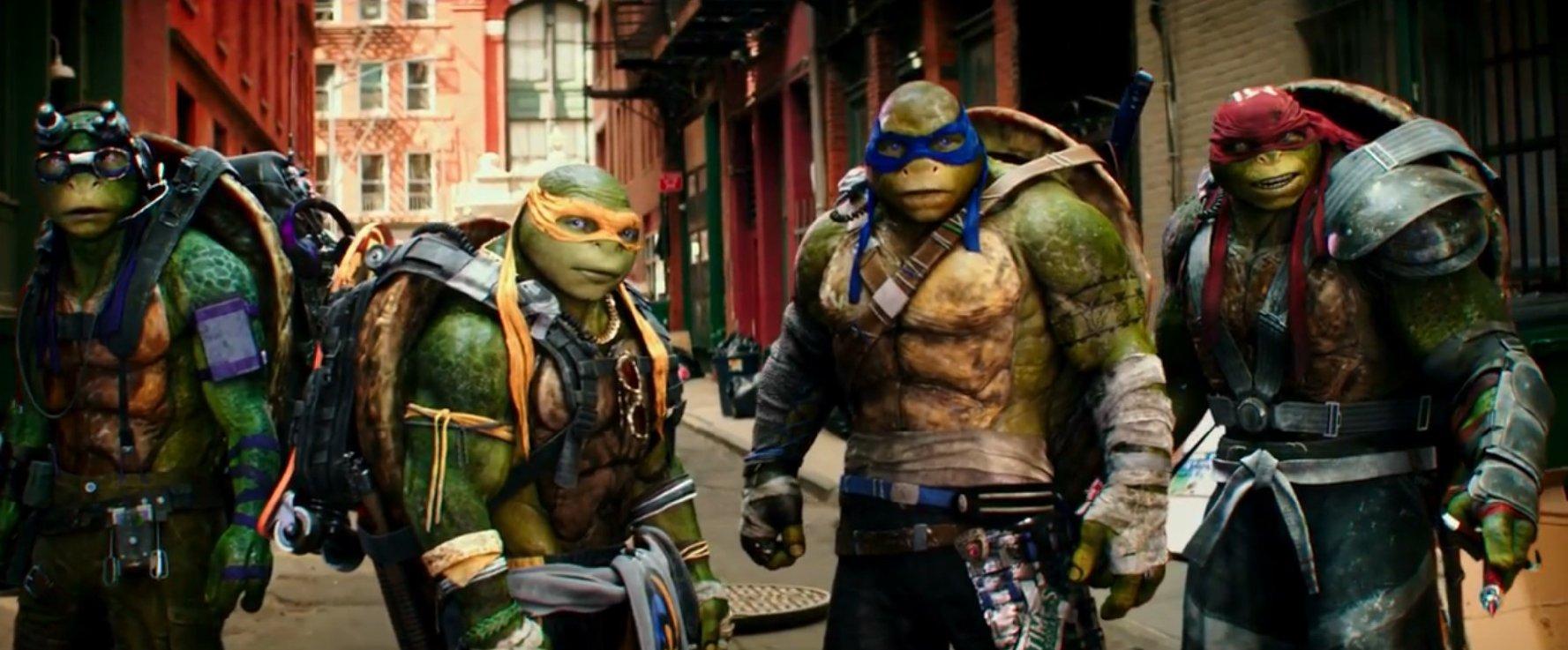 """Recenzja """"Wojownicze żółwie ninja: Wyjście z cienia"""" – żółwie mogły jednak nie wychodzić"""