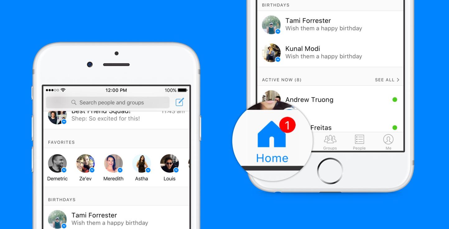 Facebook Messenger radykalnie się zmienia. Tak będzie wyglądał nowy główny ekran