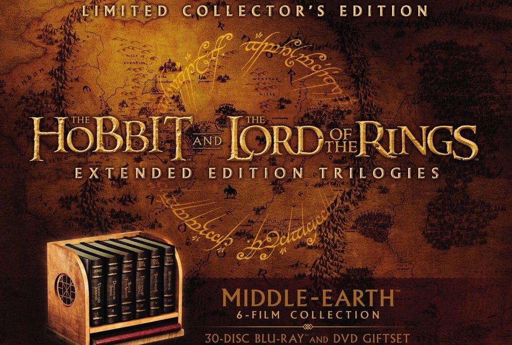 """Szykujcie portfele – nadchodzi ekskluzywne wydanie trylogii """"Hobbita"""" i """"Władcy Pierścieni"""" na Blu-ray!"""