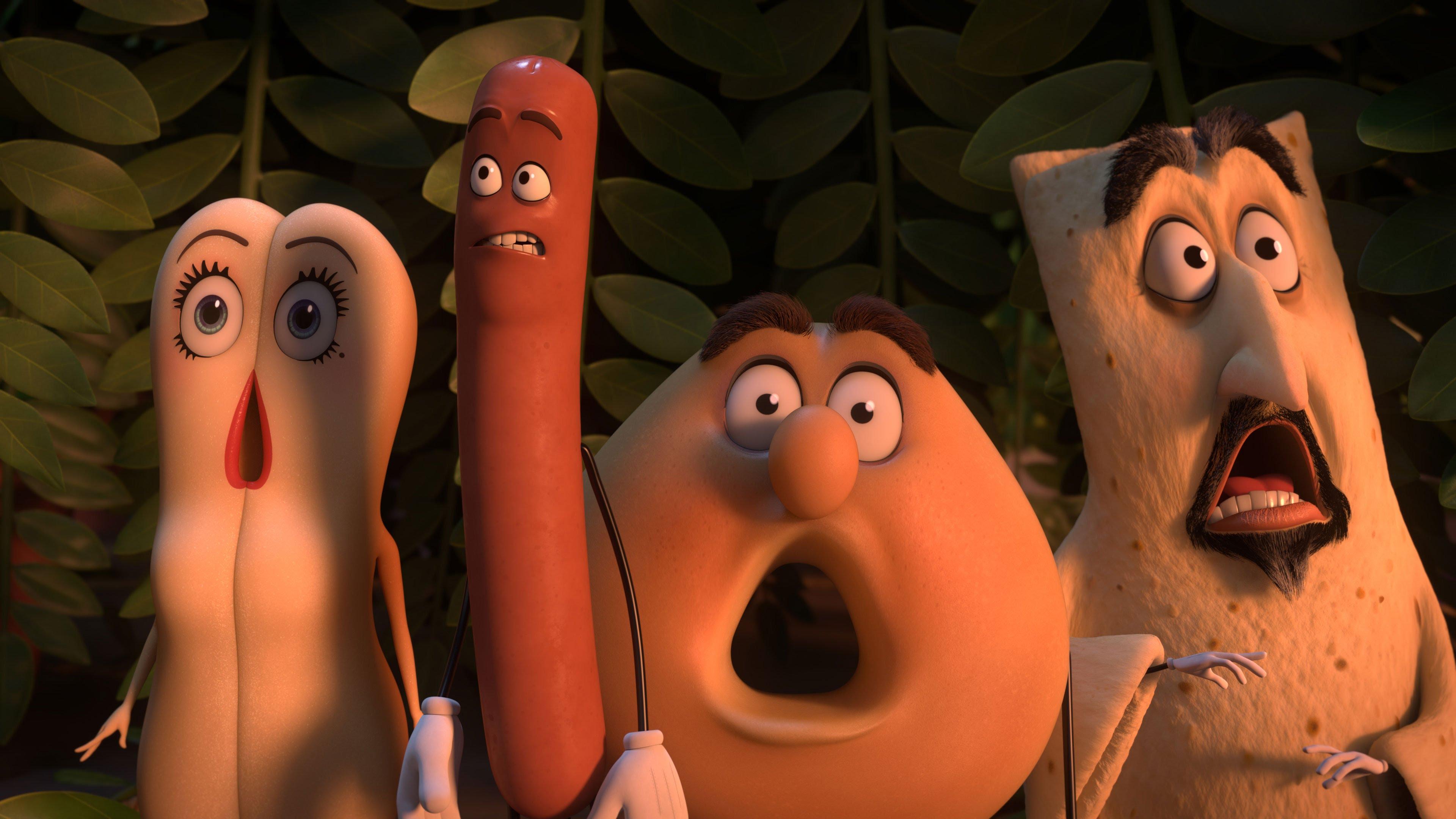 """Od dziś nawet kanapkę będę jadł z poczuciem winy. """"Sausage Party"""", recenzja sPlay"""