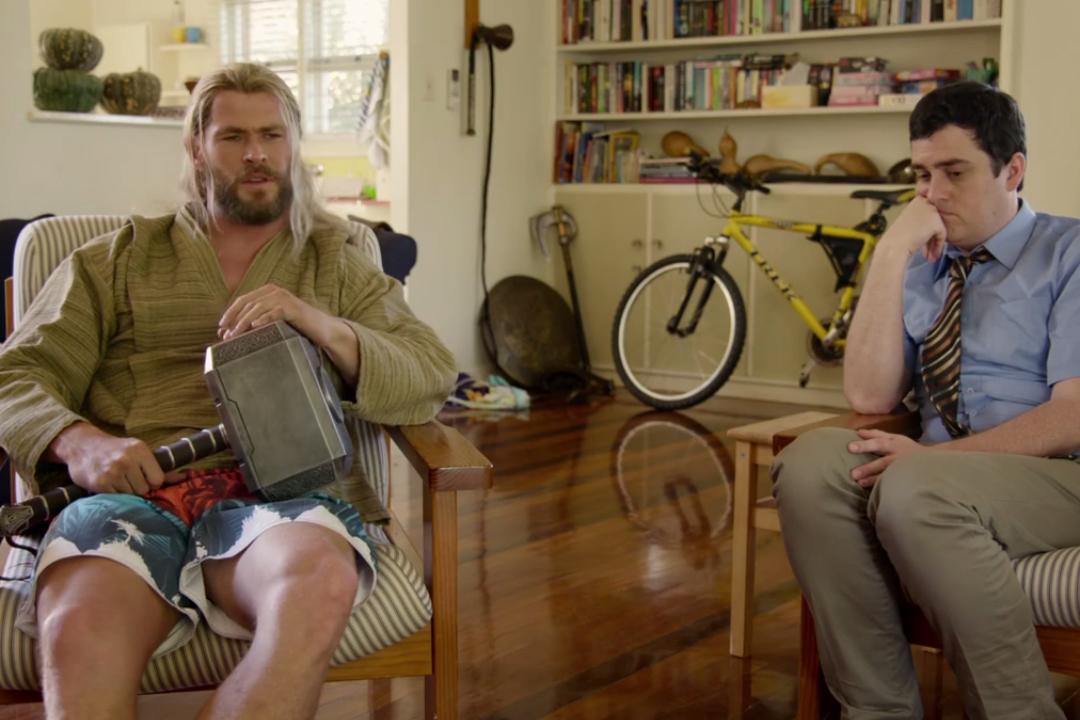 Co robił Thor podczas Civil War? Marvel opublikował komediowe wideo