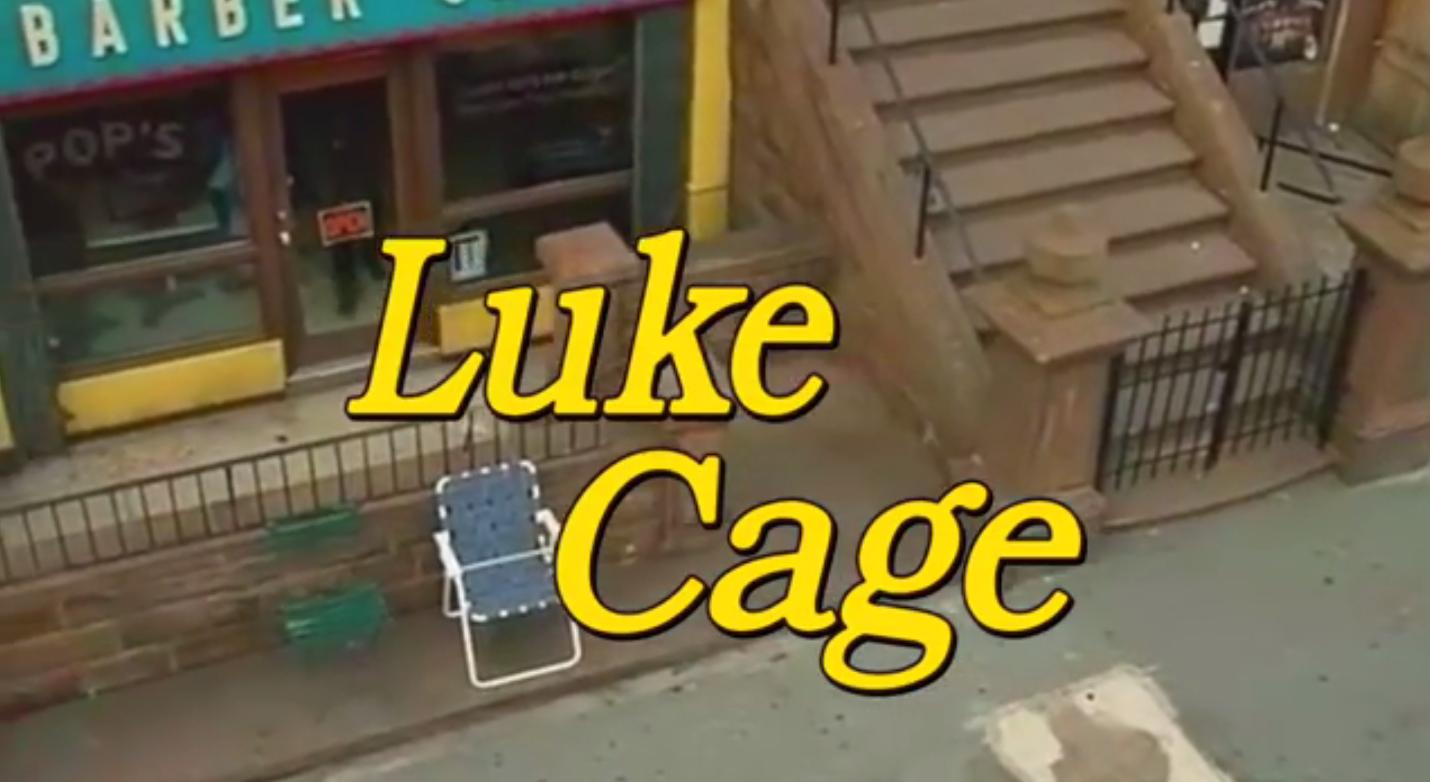 """Tak wyglądałby """"Luke Cage"""", gdyby był sitcomem z lat 90."""