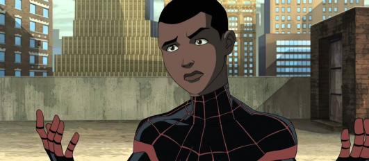 Czarnoskóry latynos Miles Morales będzie gwiazdą nowego filmu Spider-Man, ale i tak zostaje w cieniu Petera Parkera