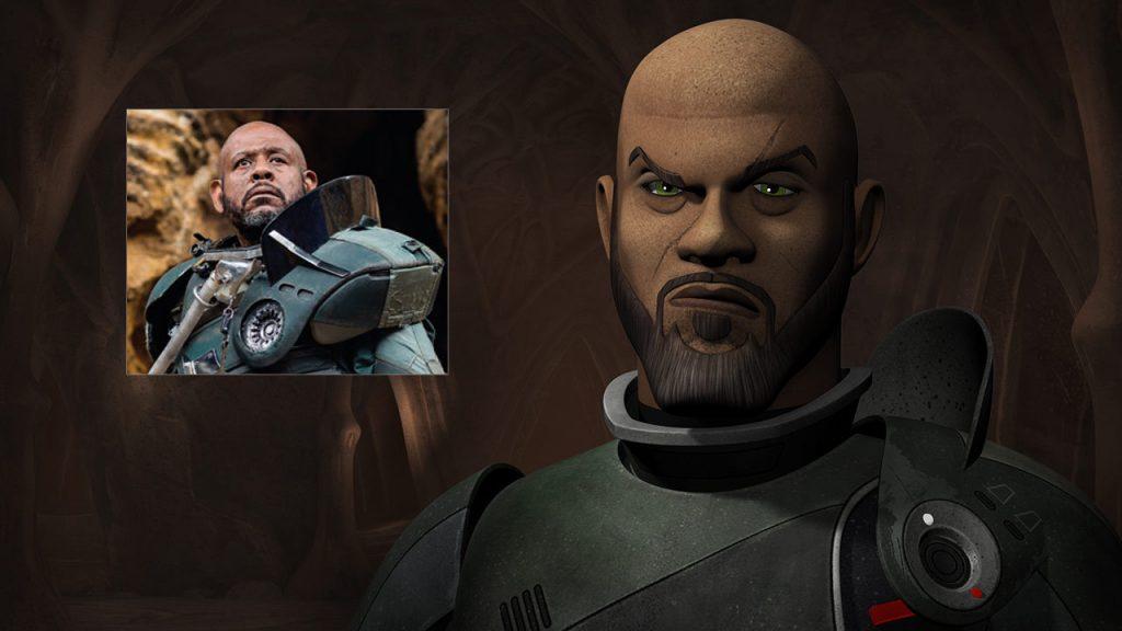 Star Wars Rebels - Rebelianci - Ghosts of Geonosis - Saw Gerrera