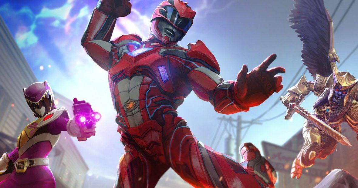 Gra Power Rangers jak Pokemony. kolekcjonujesz wojowników i napuszczasz ich na siebie
