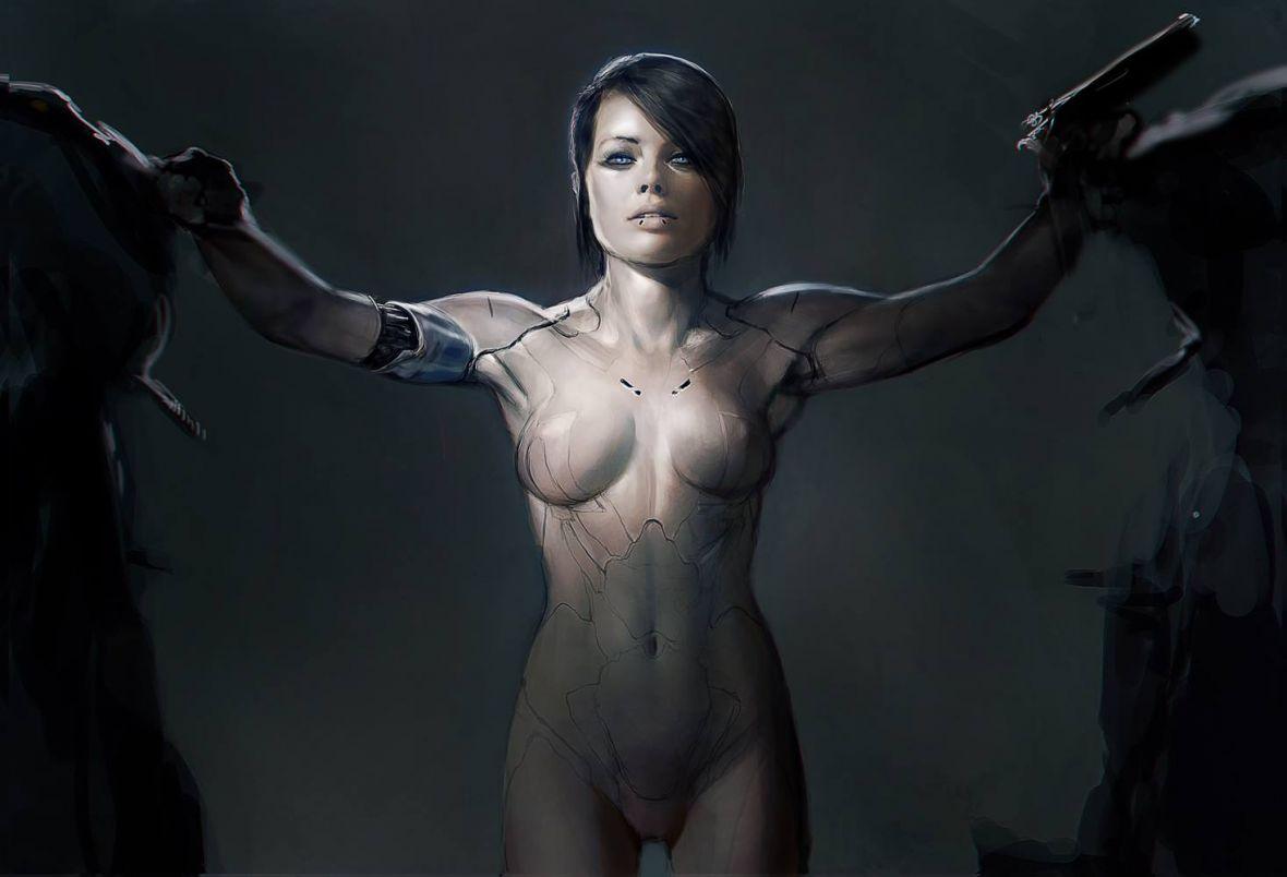 Nie Scarlett Johansson, a Margot Robbie miała grać w Ghost in the Shell. Są nawet oficjalne grafiki