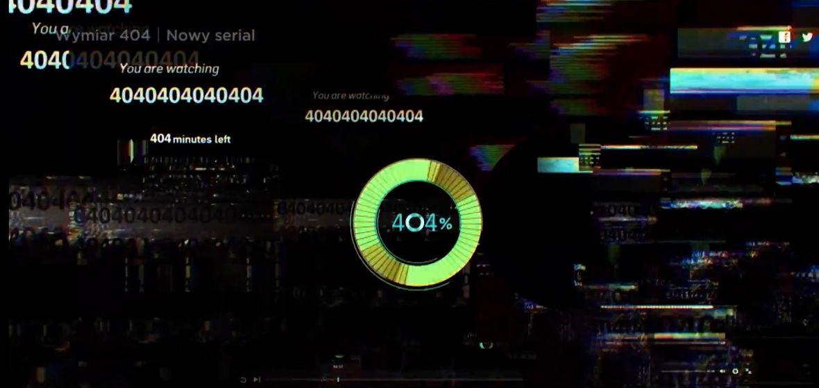 Wymiar 404 to takie Black Mirror dla ubogich, w którym brakuje motywu przewodniego