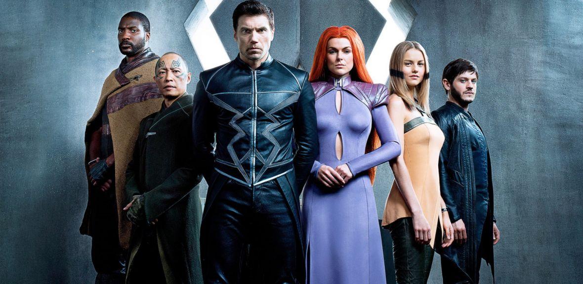 Długo oczekiwani The Inhumans wyglądają, jak gdyby urwali się z planu Power Rangers. Jest pierwsze zdjęcie