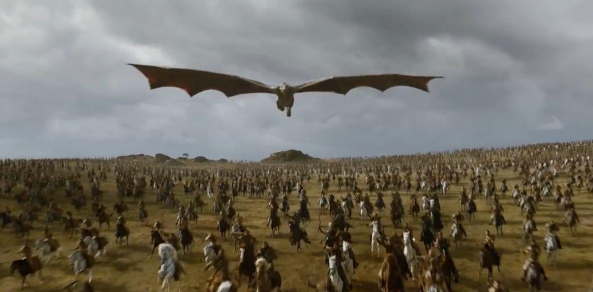 Niesamowita pożoga. Jak powstała bitwa z 4. epizodu 7. sezonu Gry o tron?