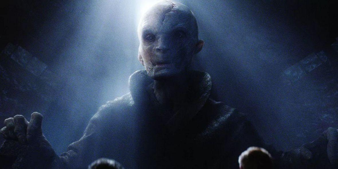 Tak wygląda Snoke. Wyciekły grafiki z nadchodzącej części Gwiezdnych wojen