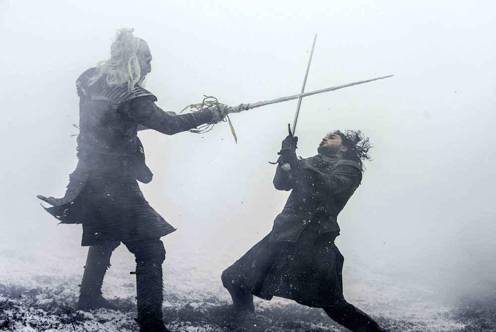 Jon Snow pojedynek