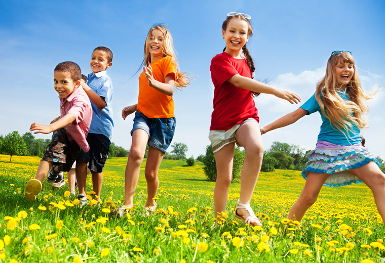 Dzieci na świeżym powietrzu