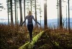 Fot. do artykułu: 'Zdrowotne spacery po lesie'