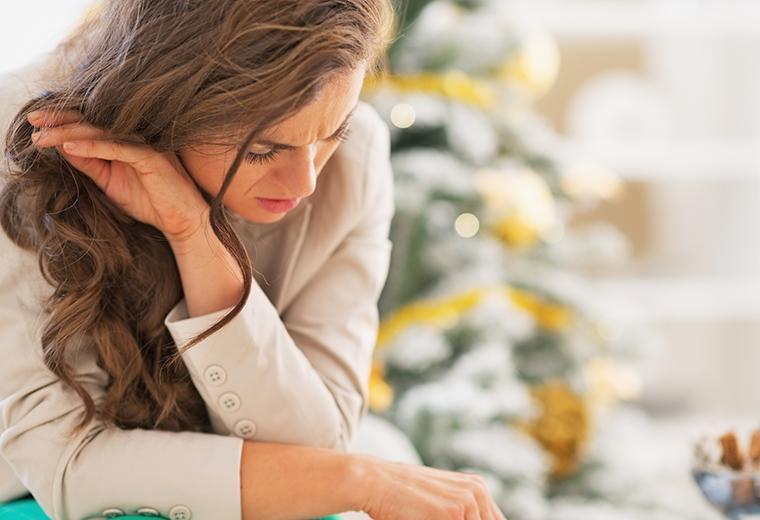 Depresja przed Bożym Narodzeniem