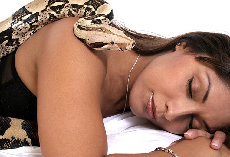 Masaż wężami