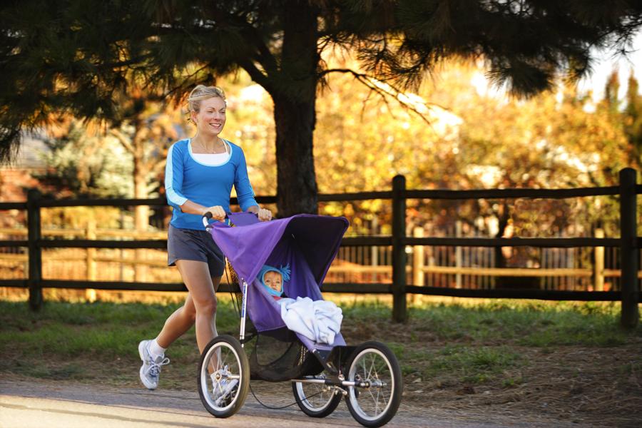 Jogging z dzieckiem