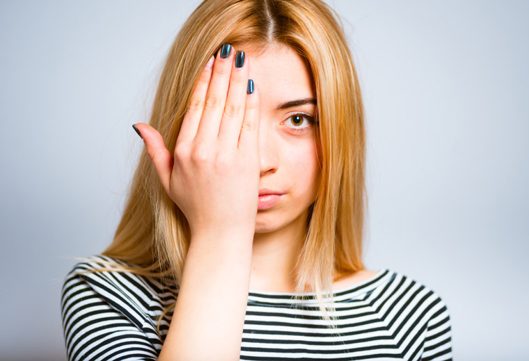 Pokanaj problem podkrążonych oczu