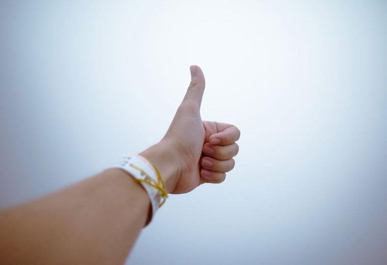 Pozytywne nastawienie gwarancją sukcesu życiowego