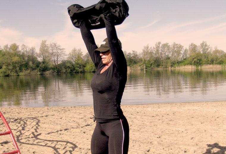 Trening z sandbag