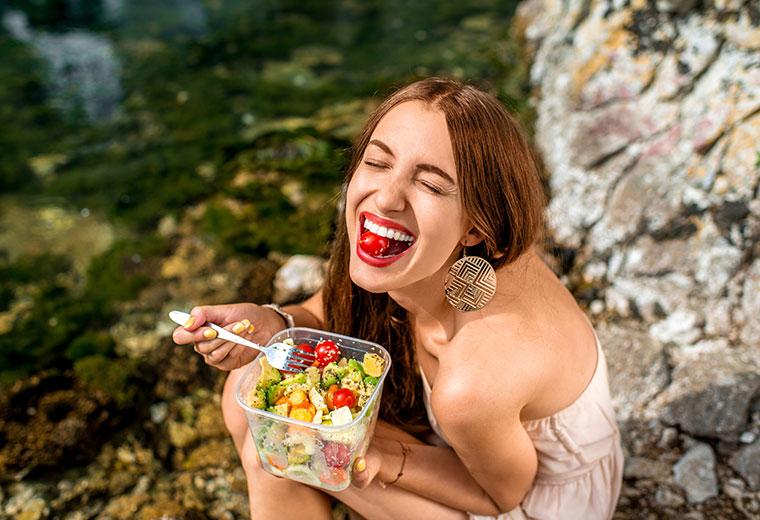 Świadome jedzenie