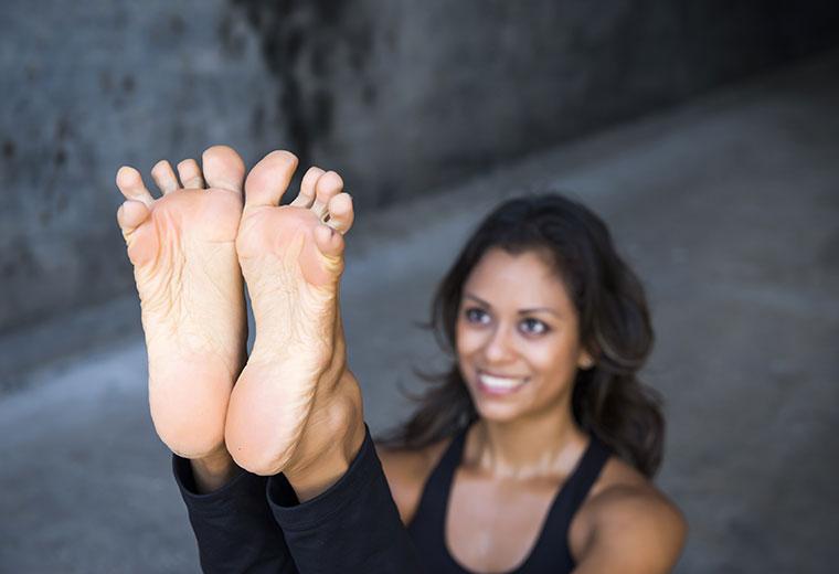 Joga dla stóp