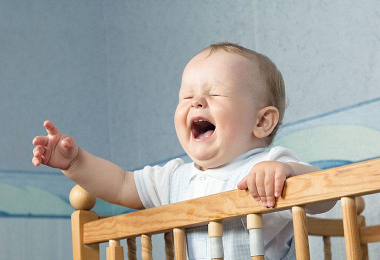 Fot. do artykułu: 'Nocny płacz dziecka, a ...'
