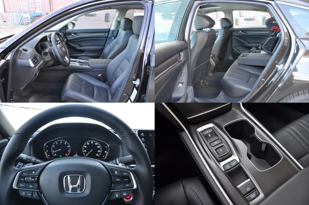 Honda Accord 2018 detale wnętrza