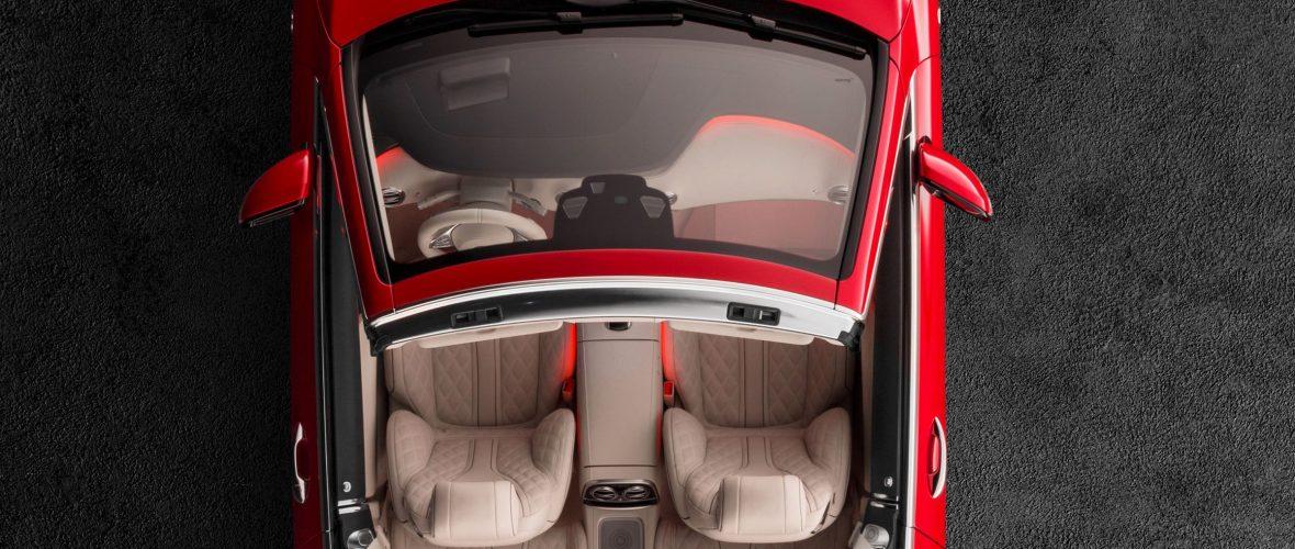 Mercedes Klasy S Zobacz Jak Wygląda Jego Fotel Od środka