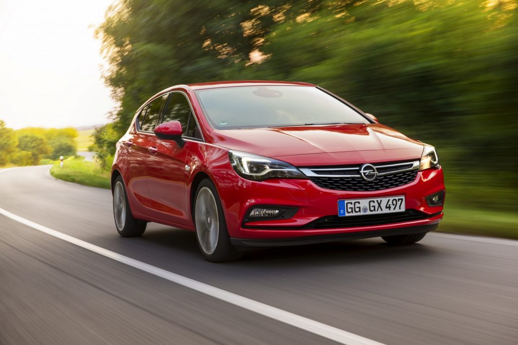 Opel Astra nowy samochód