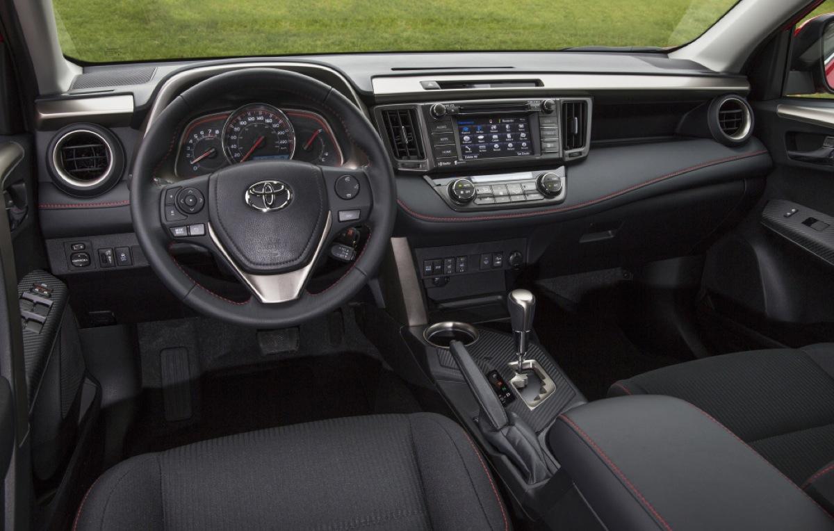 Toyota RAV4 wnętrze