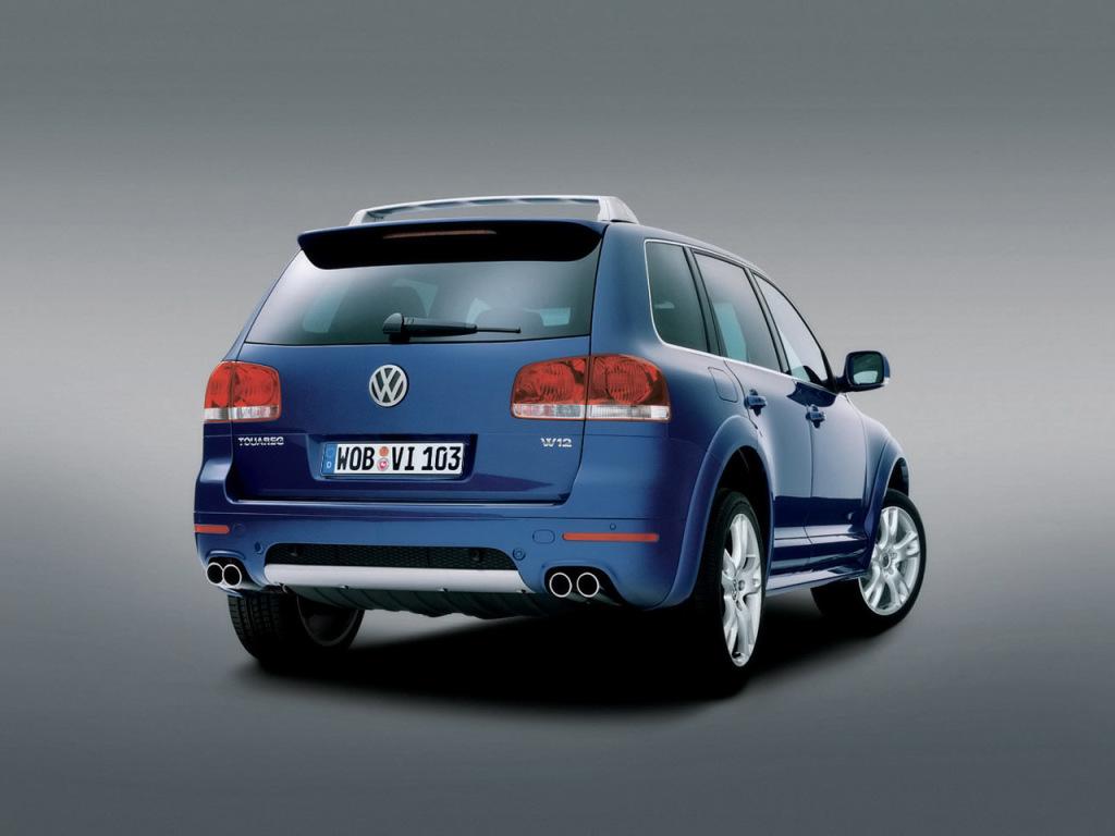 Volkswagen W12 Touareg