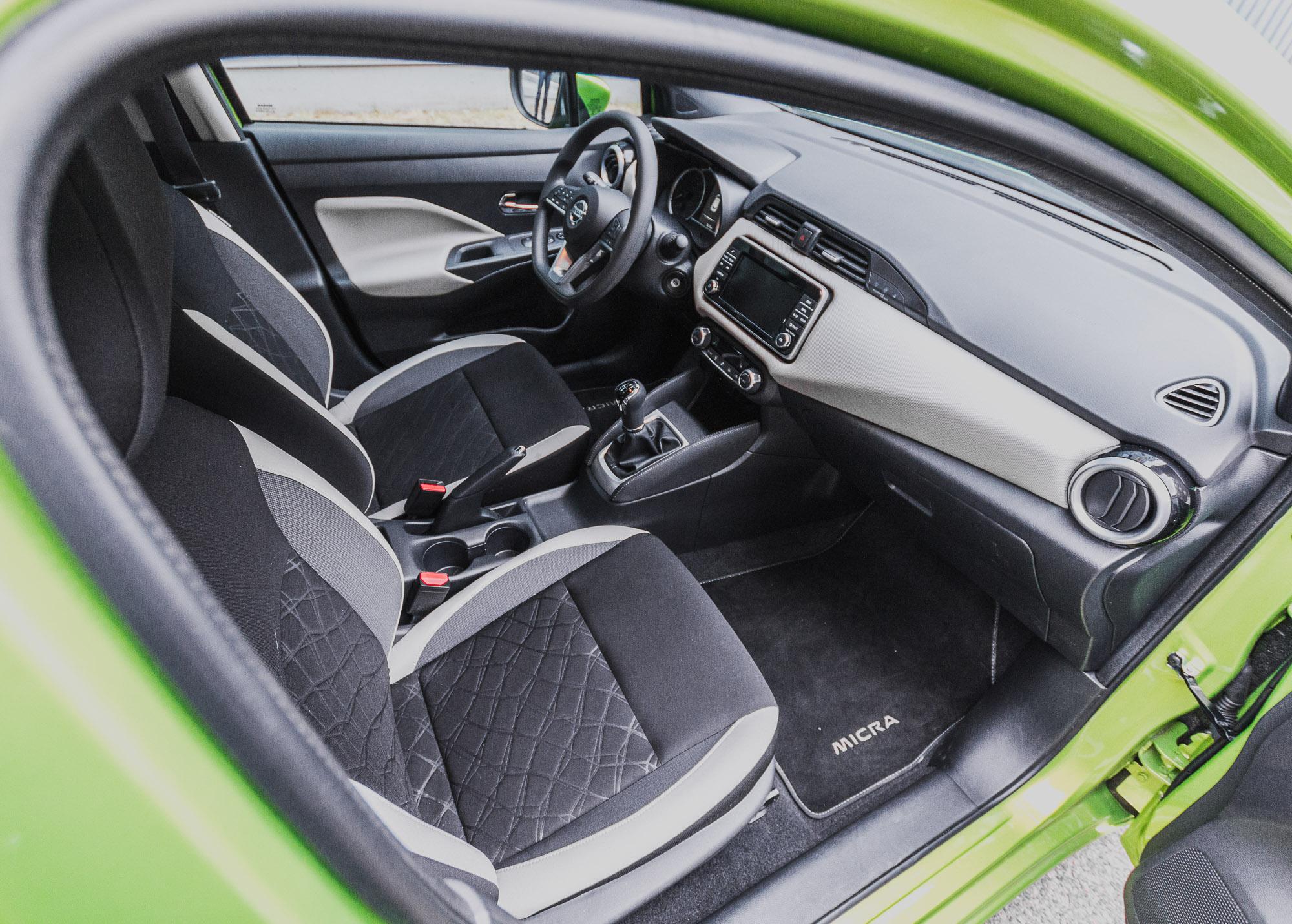 Nissan Micra 1.0 test