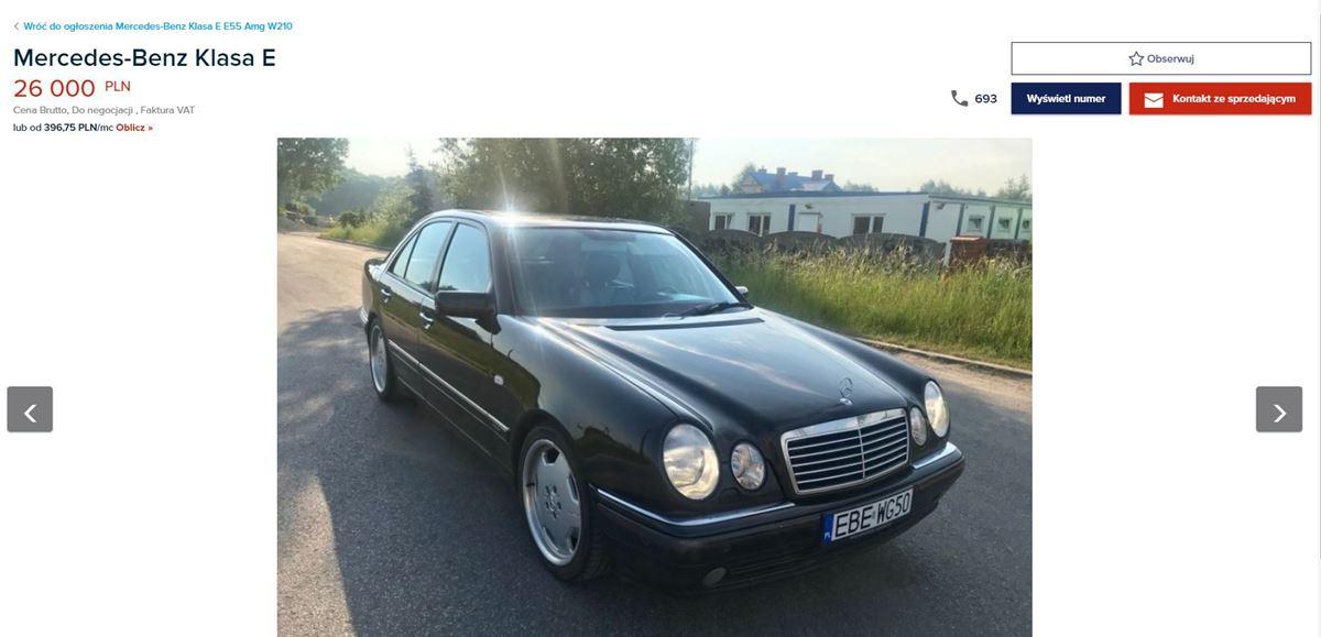 Mercedes-W210