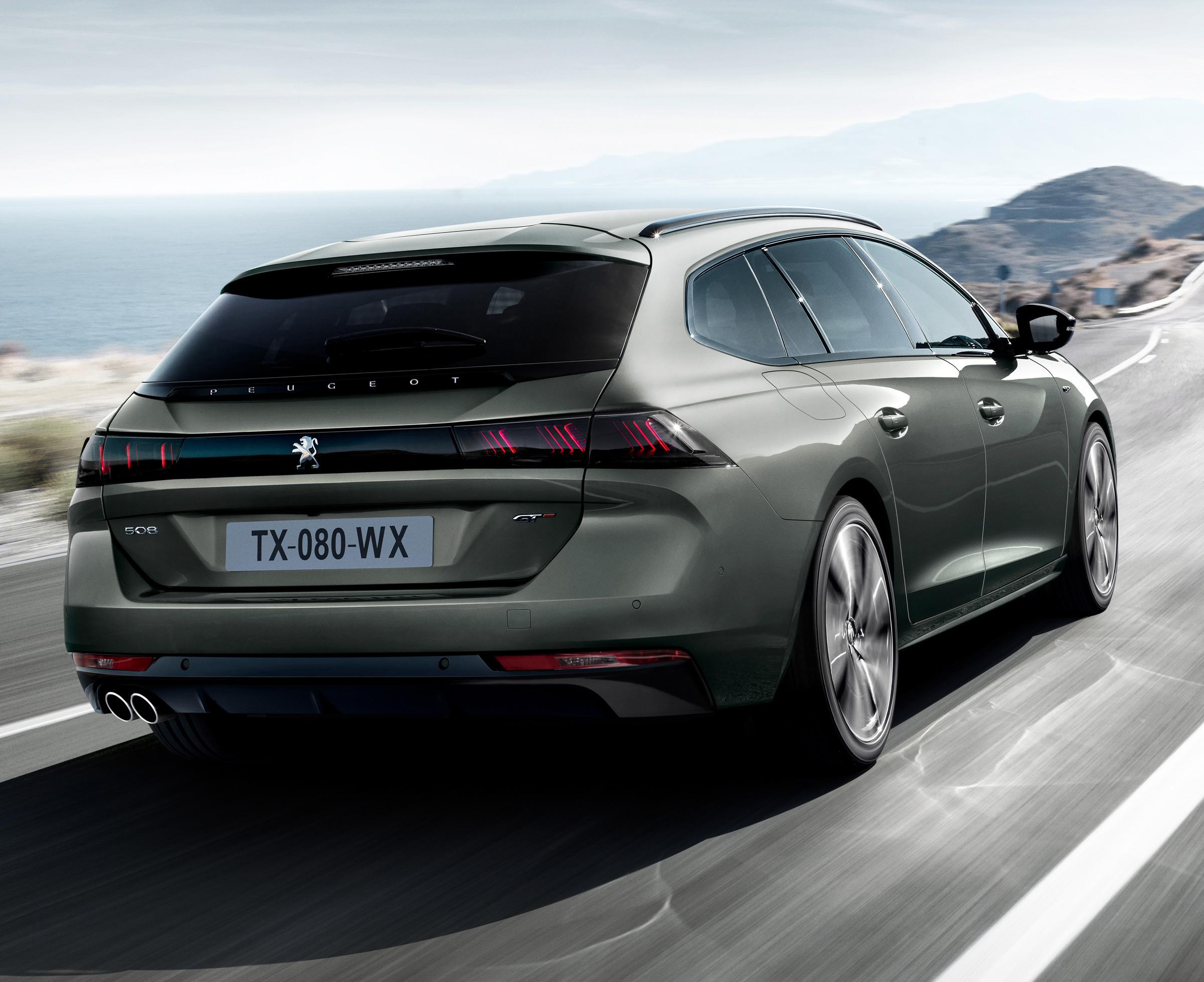 Peugeot Pokazal Nowe 508 Sw Wyglada Oblednie