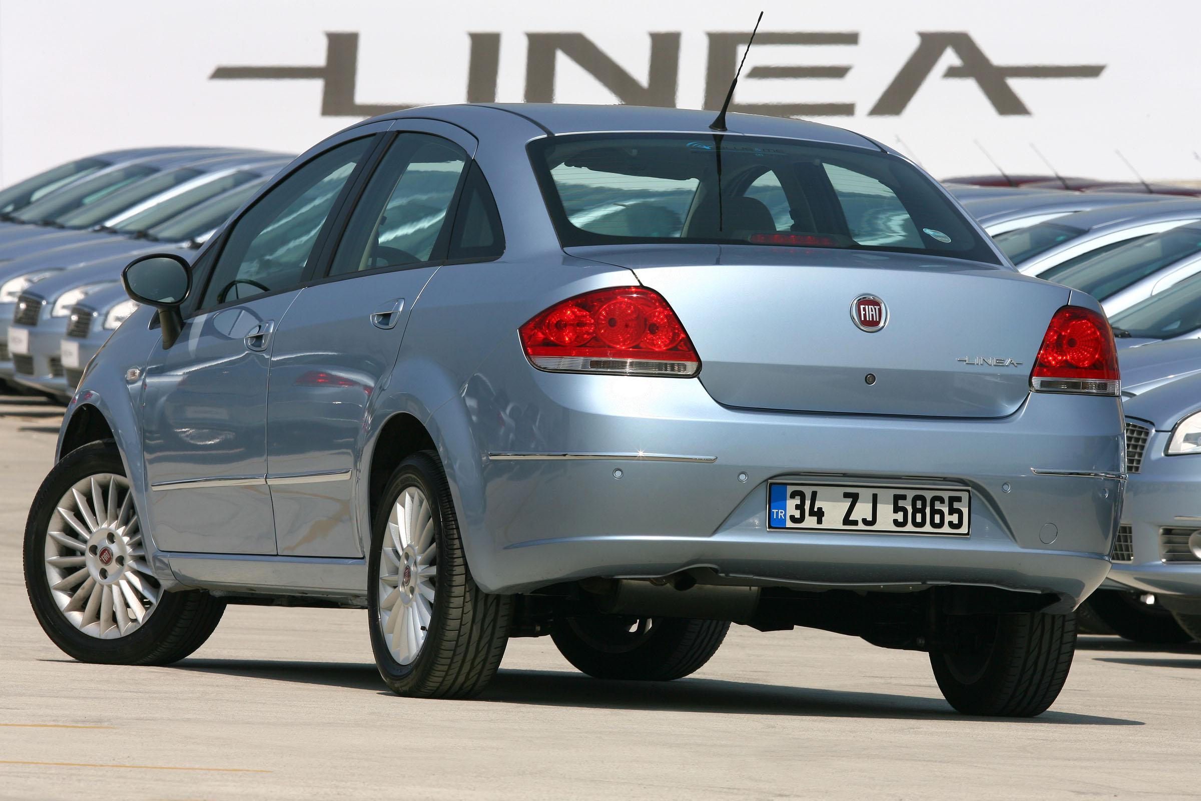 Fiat Linea samochód dla starszych