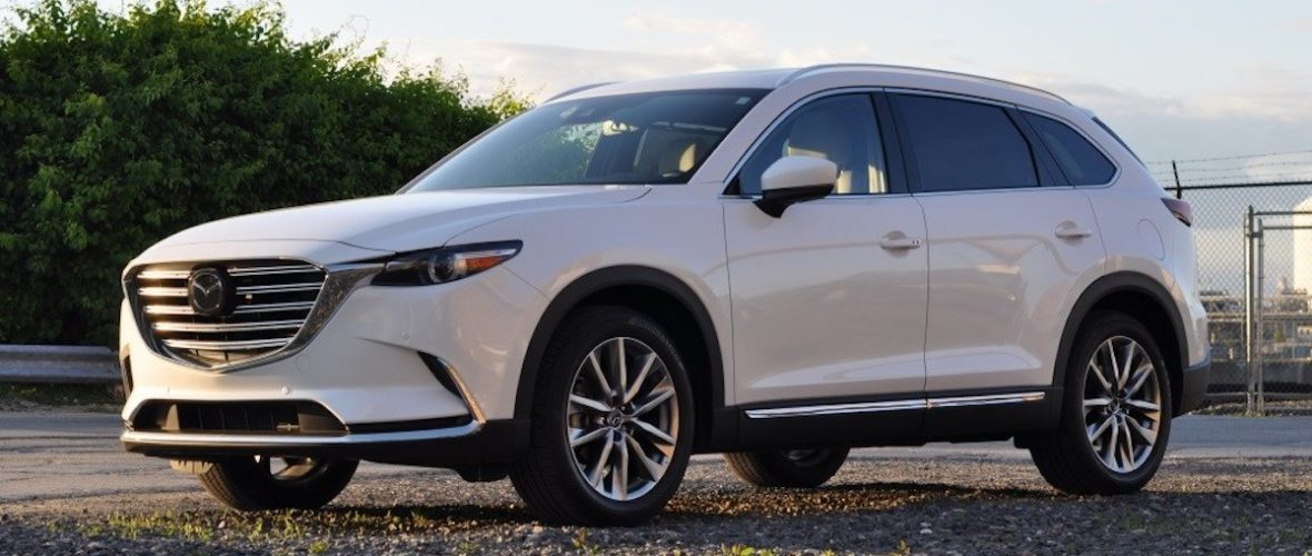 Oryginał Mazda CX-9 to najlepiej prowadzący się duży SUV (wśród tych tańszych) KF17