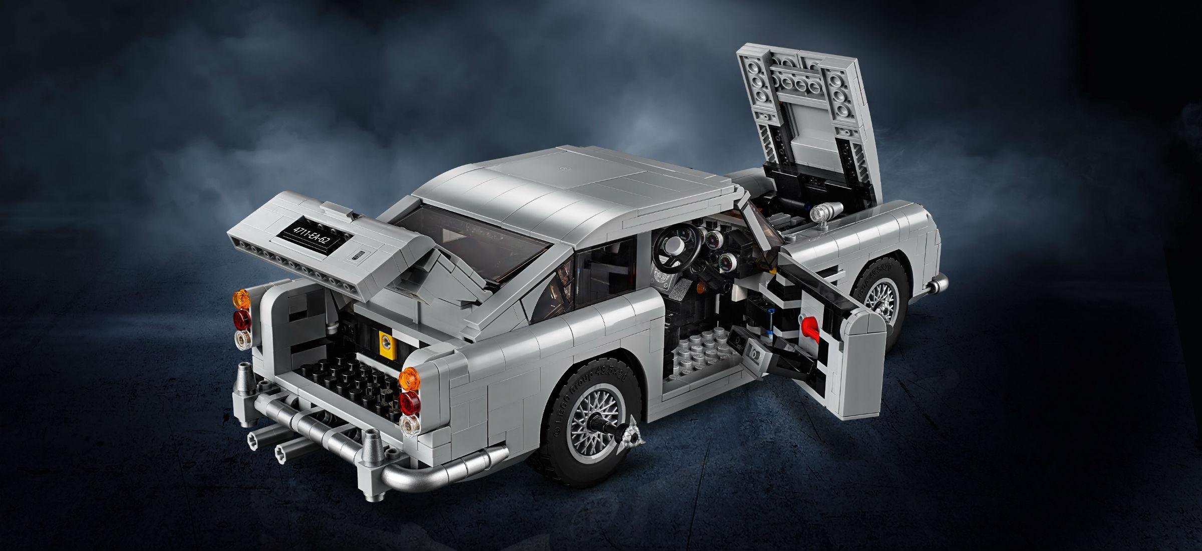 Najbardziej bondowski gadżet w historii Aston Martin z klock³w Lego