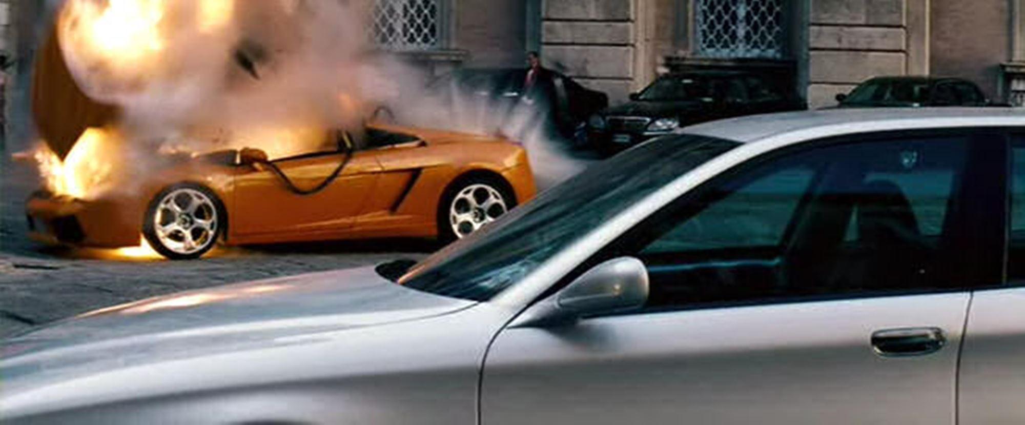 Mission Impossible Lamborghini Gallardo