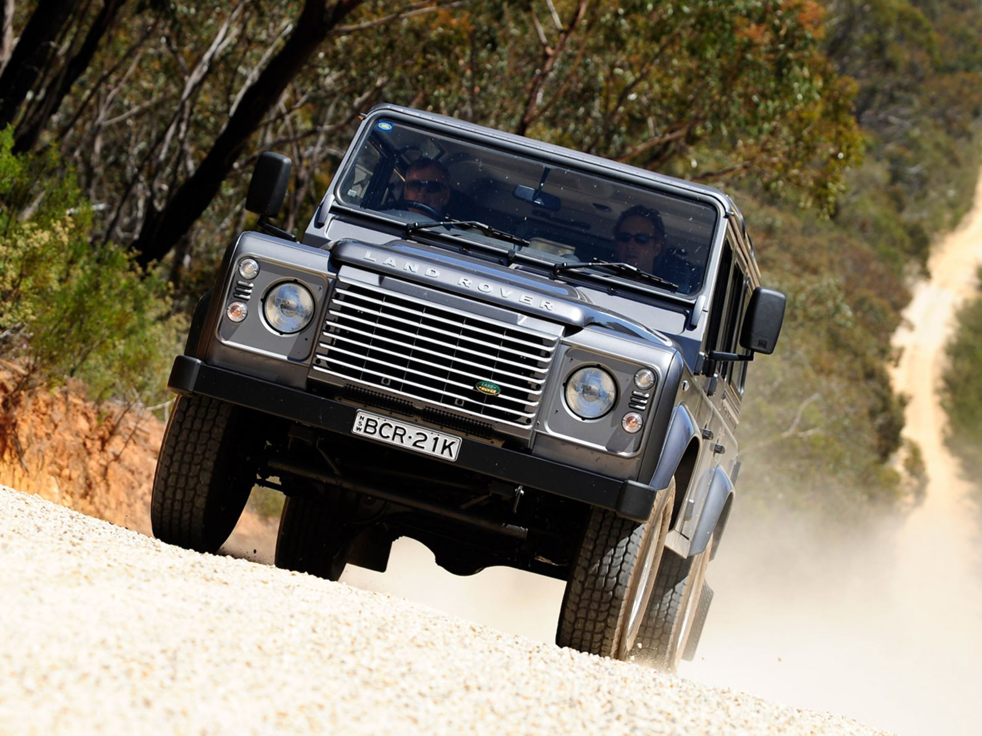Mission Impossible Land Rover Defender