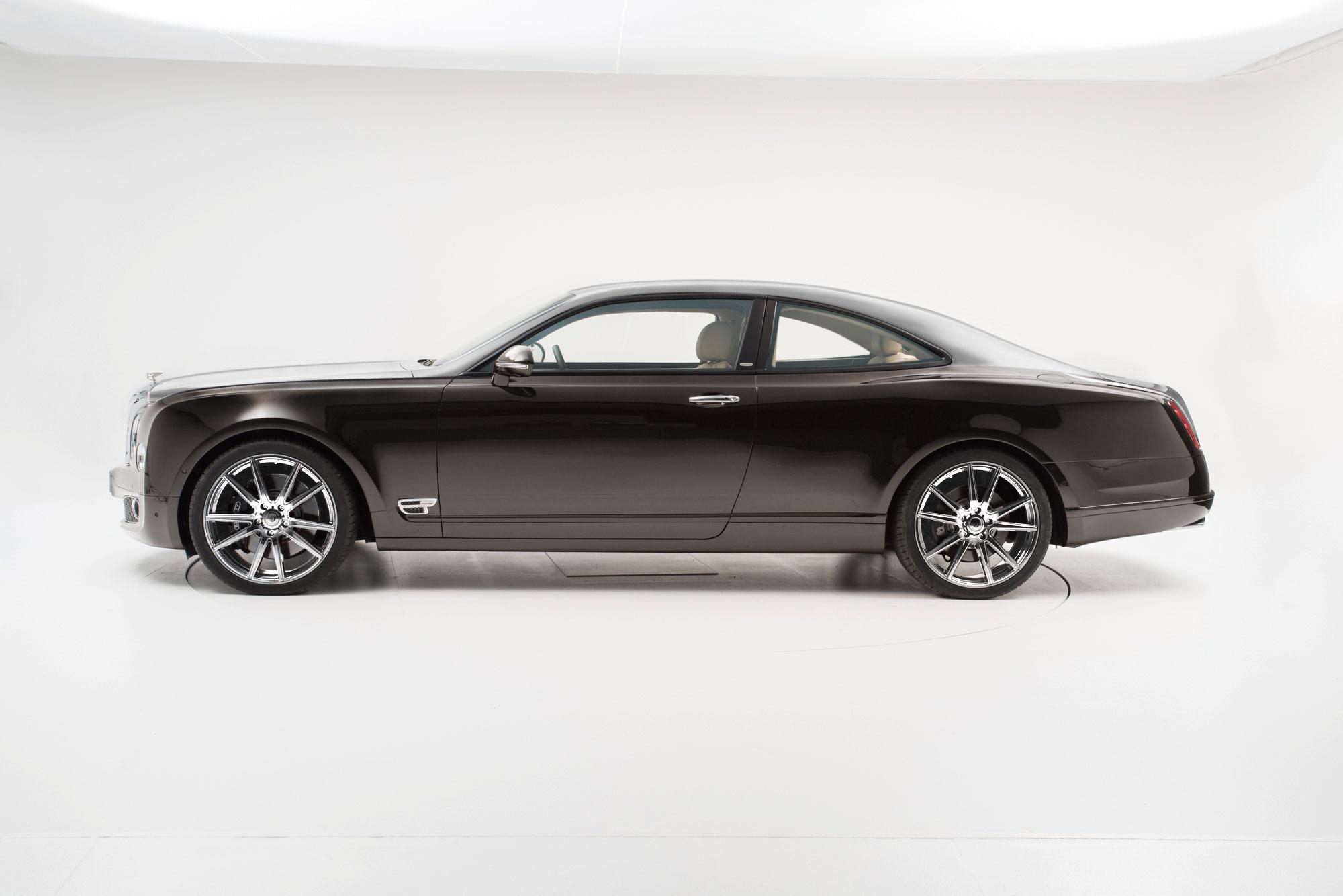 Bentley nie chciał zrobić monstrualnego coupe więc ktoś zrobił je