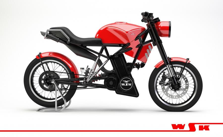 Motocykl WSK