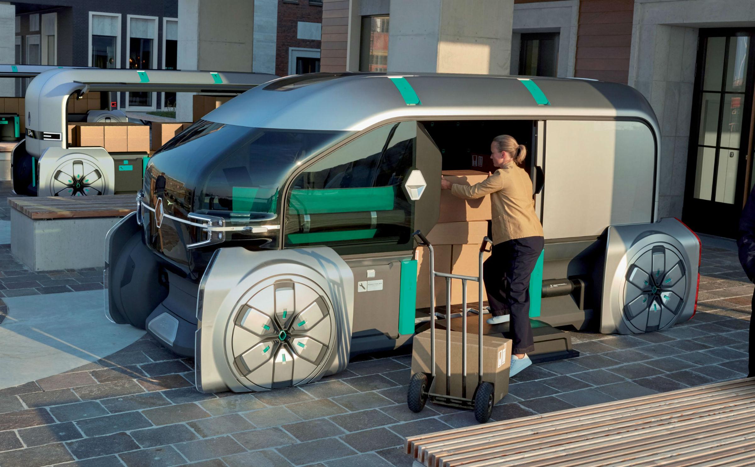 autonomiczne Renault EZ-PRO