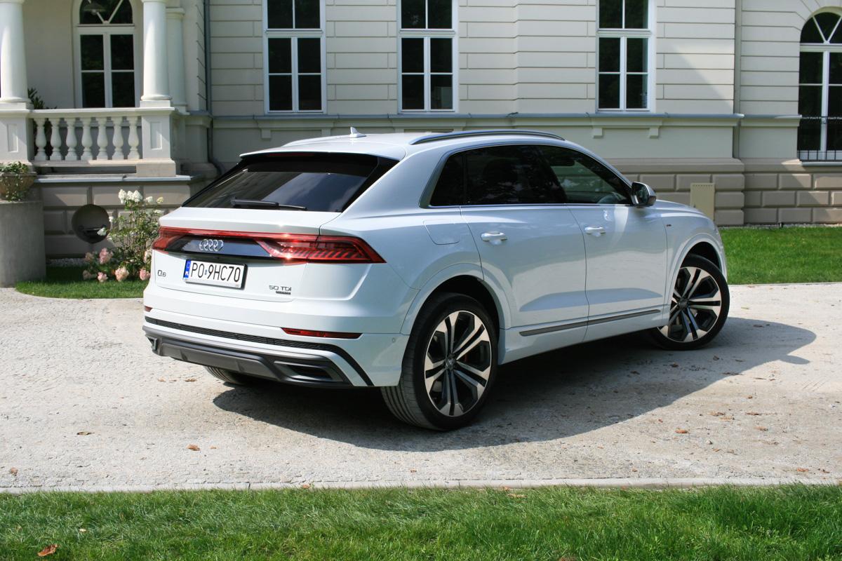 Nowe Audi Q8 50 TDI