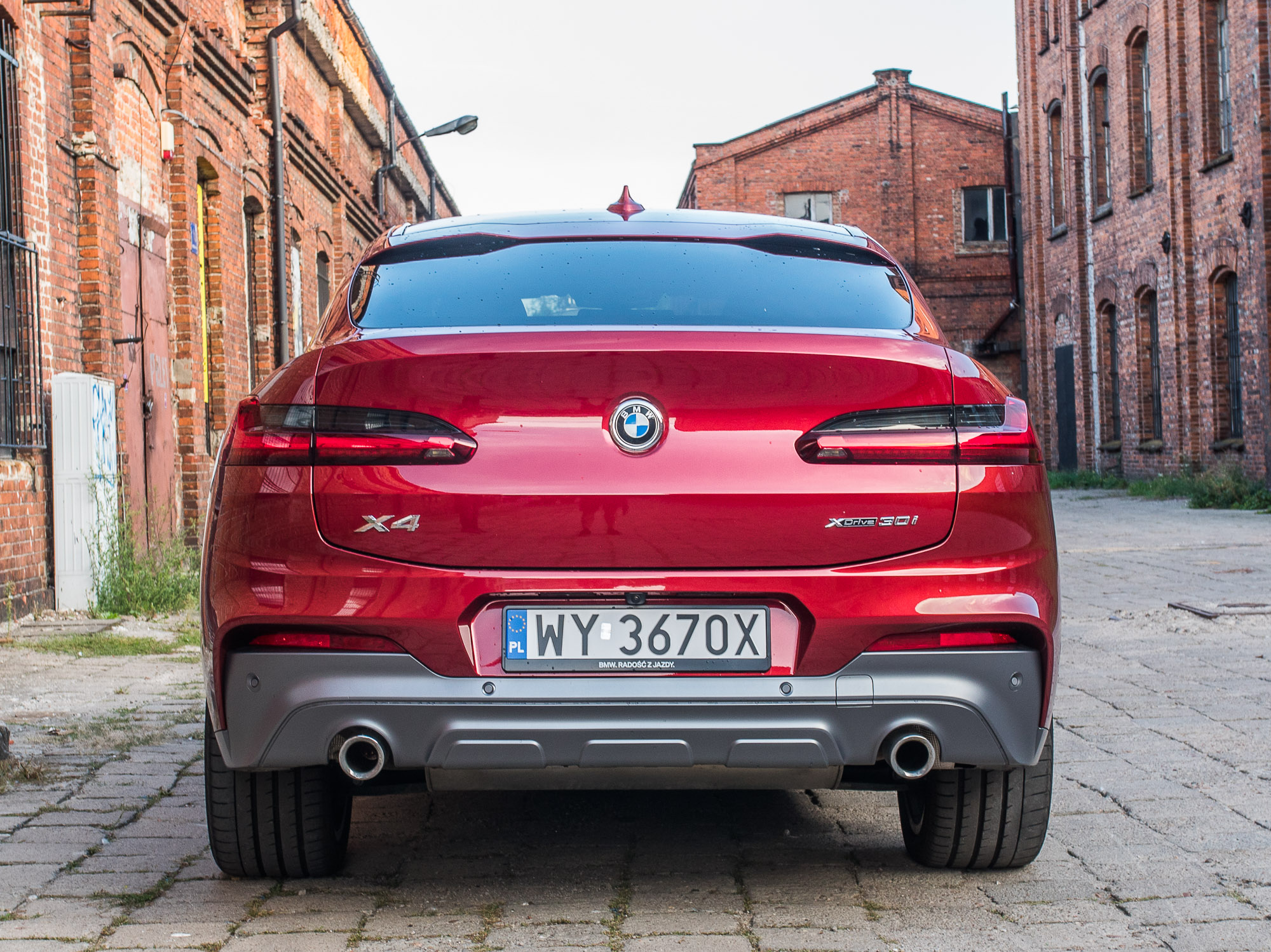BMW X4 xDrive 30i test