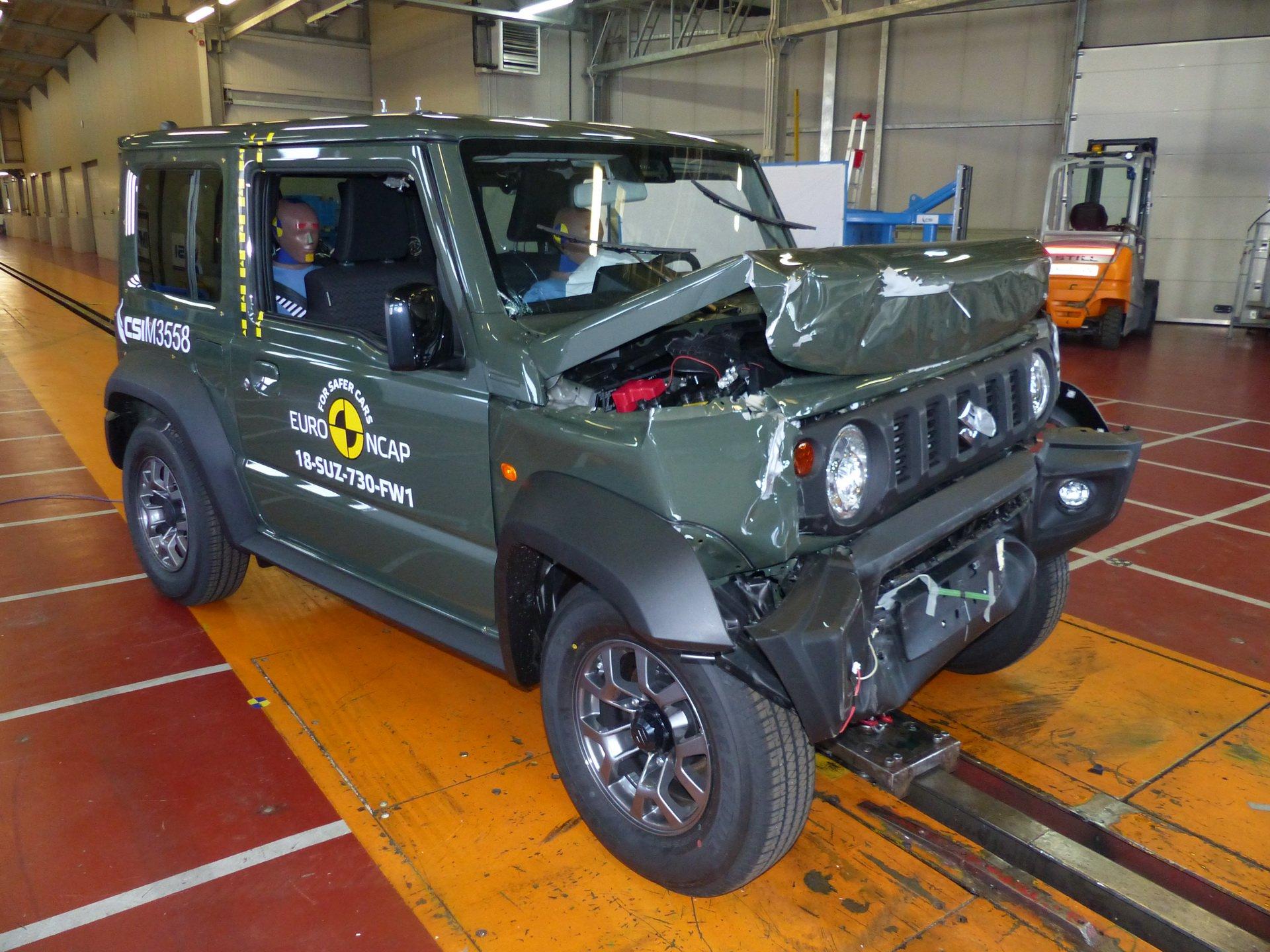 Euro NCAP Suzuki Jimny