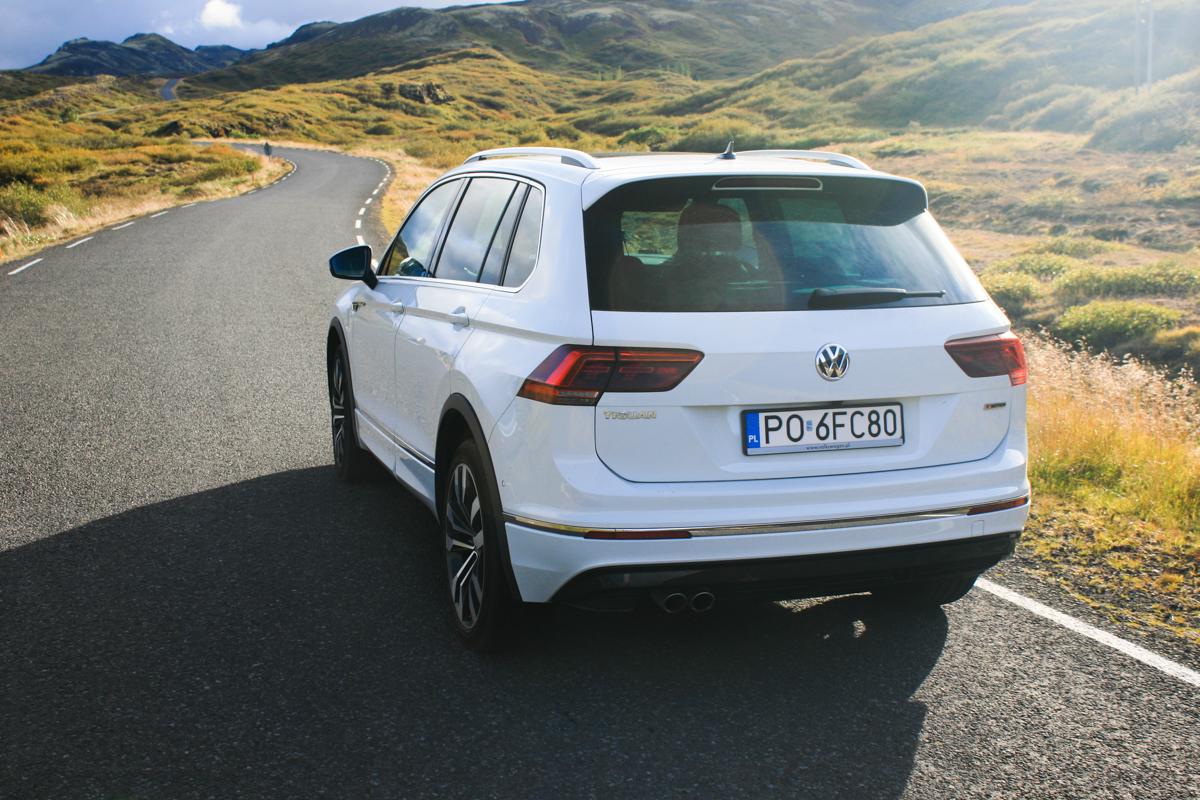 VW Tiguan Islandia