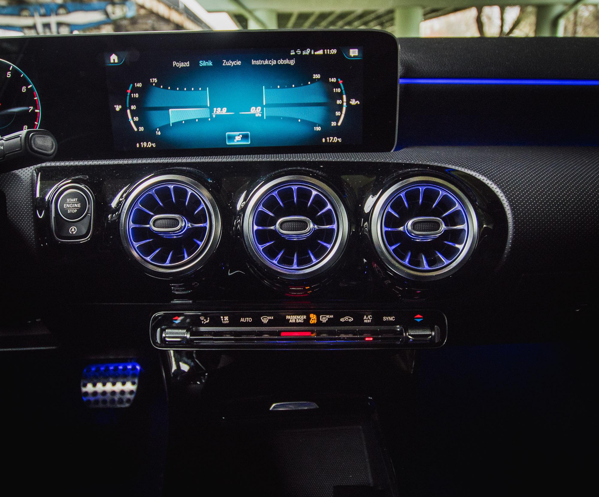 Mercedes A200 test