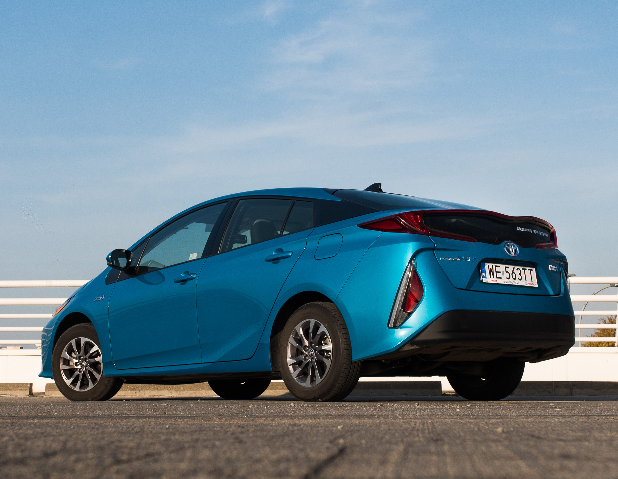 Toyota Prius Plug-in test